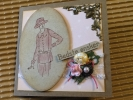 Dame 001- Your Own Scrap stempel