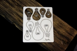 SnipArt - Industrial Factory – Bulbs set