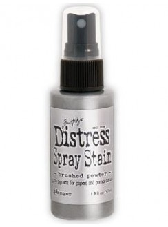 Distress Spray Stain - Brushed Pewter