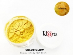 Color Glow - Metallic Akvarel Pulver - Amber - 14 ml