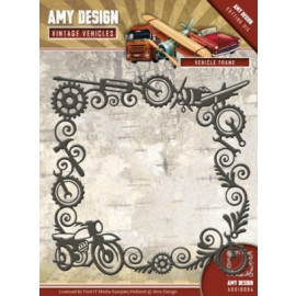 Amy Design die - Vintage Vehicles - Vehicle Frame