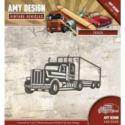 Amy Design die - Vintage Vehicles - Truck