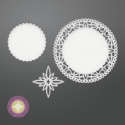Die - North Star Doily Set