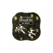 Stazon Midi Pad - Jet Black