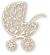 Wild Rose Studio Die - Ornate Pram