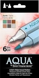 Spectrum Noir Aqua penne - Earth 6 pack