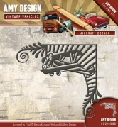 Amy Design die - Vintage Vehicles - Aircraft Corner