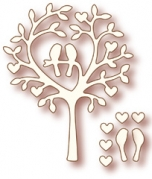 Wild Rose Studio Die - Love Bird Tree