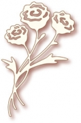 Wild Rose Studio Die - Rose Bunch