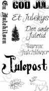 Små juleord og julemotiver- Your Own Scrap Stempel