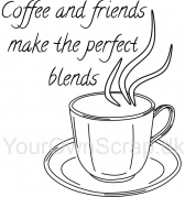 Coffee and Friends - Stempel