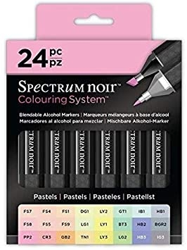 Spectrum Noir Alcohol Markers - Pastels24 set - NY GENERATION